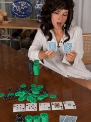 Unshaven Eve Loses at Strip Poker