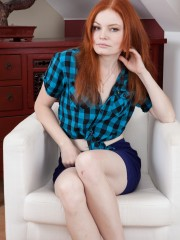 Ginger Haired Florence is the untrimmed Girl next Door