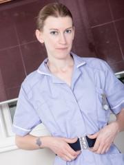 Unkempt Girl Katie Daze Plays in the Kitchen