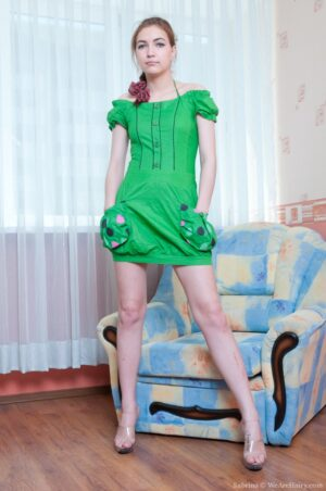 Sabrina the Pretty Girl in the lil' Green Dress
