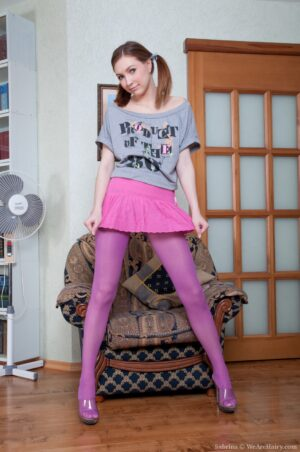 Sabrina's cool lil' undress Session