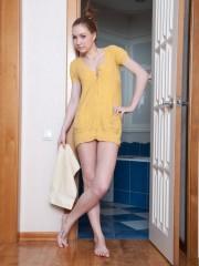 Sabrina's naughty Little Shower Adventure