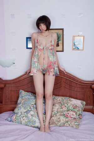 Sasha M fucktoys her untrimmed honeypot