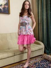 Elena May Flaunts her Shaggy cunny