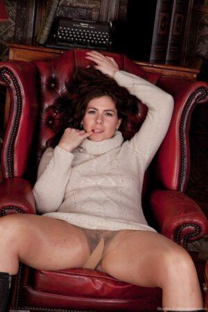 Hirsute model Sharlyn enjoys her new job